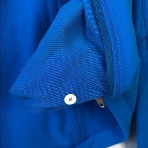 Like New Lululemon Jacket Size 8 Bright Blue